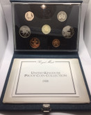 United Kingdom: 1988 Proof Coin Collection (7 Coins) #2