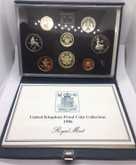 United Kingdom: 1986 Proof Coin Collection (8 Coins)