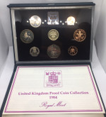 United Kingdom: 1984 Proof Coin Collection (8 Coins)