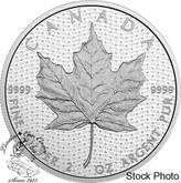 Canada: 2017 $10 Canada 150 Iconic Maple Leaf Pure Silver Coin