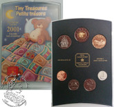 Canada: 2001 P Tiny Treasures Baby Gift Coin Set