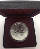 Canada: 1998 $5 1 oz 1908-1998 Anniversary of RCM Privy Silver Maple