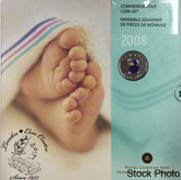 Canada: 2008 Baby Gift Coin Set - Teddy Bear