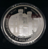 Canada: 2008 $50 100th Anniversary of the Mint 5 oz Pure Silver Coin