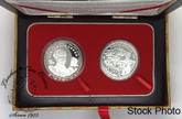 Canada: China: 1998 60th Anniversary of the Arrival of Dr. Norman Bethune in China 2 Coin Set