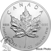 Canada: $5 1 oz Pure Silver Maple Leaf Coins (Random Year)