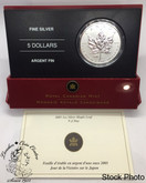 Canada: 2005 $5 Silver Maple Leaf VJ Day Privy