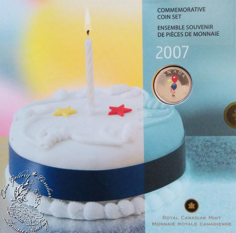 Canada 2007 Birthday Gift Coin Set