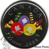 Canada: 2009 Birthday Card - Balloons & Steamers