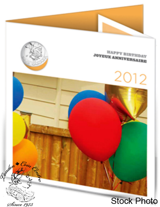 Canada 2012 Birthday Gift Coin Set