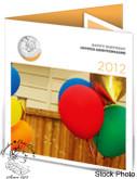 Canada: 2012 Birthday Gift Coin Set - Ice Cream Cone