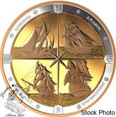 Canada: 2019 $125 Tall Ships of Canada 1/2 Kilogram Pure Silver Coin