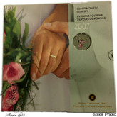 Canada: 2007 Wedding Coin Gift Set - Bouquet