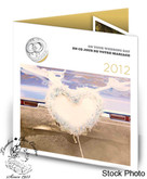 Canada: 2012 Wedding Coin Gift Set - Wedding Rings and Heart