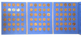United States: 1941 - 1975 Lincoln Head Cent Collection - Whitman Folder