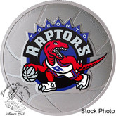 Canada: 2020 $25 Toronto Raptors 25th Season 1 oz. Pure Silver Coin