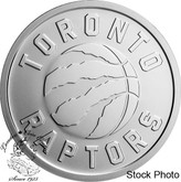 Canada: 2020 25 Cent Toronto Raptors 25th Season Coin