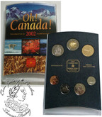 Canada: 2002 OH! Canada P Coin Set