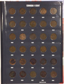 Canada: 1920-2012 Collection of Pennies Vista Book  (108 Pieces)