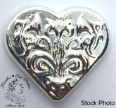 Beaver Bullion Pure Silver 1 Oz Heart