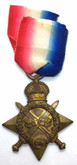 World War I 1914-15 Star to the Royal Flying Corps 2.A.M. A.W. GREENE