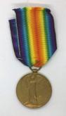 Great Britain: World War I Victory Medal PTE. S. ADLER. Middlesex Regiment
