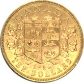 Canada: 1913 $10 Gold Coin George V Lot#3
