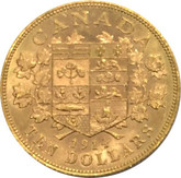 Canada: 1914 $10 Gold Coin George V