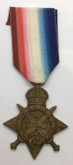World War I 1914 Star to the 1/ Mule Corps DVR. AMIR