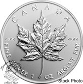 Canada: 2014 $5 Maple Leaf Reverse Bullion Replica Silver Proof Coin