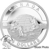 Canada: 2014 $25 Igloo Silver Coin