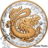 Canada: 2020 $125 Lucky Dragon Fine Silver Coin