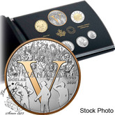 Canada: 2020 75th Anniversary of V-E-Day Pure Silver 7-Coin Proof Set