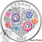 Canada: 2020 $3 Celebration of Love Fine Silver Coin