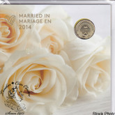 Canada: 2014 Wedding Coin Gift Set - Doves Loonie