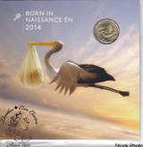 Canada: 2014 Baby Coin Set - Stork Loonie