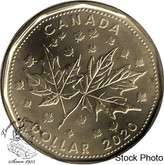 Canada: 2020 $1 Maple Leaves Coin