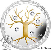 Canada: 2014 $3 Jewel of Life Pure Silver Coin