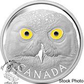 Canada: 2014 $250 Snowy Owl Kilogram Pure Silver Coin