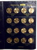 United States: Presidential Dollars Collection in Binder (78 Pieces)