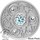 Canada: 2020 $5 Birthstones: March Fine Silver Coin