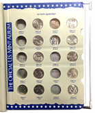 United States: 1999 - 2008 State Quarters Partially Complete Book (48 Coins)
