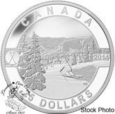 Canada: 2014 $25 Skiing Canada's Slopes Silver Coin