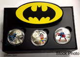 Canada: 2016 $20 Superman Wonderwoman Batman 3 Coin Set