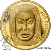 Canada: 2014 $200 Matriarch Moon Mask Ultra High Relief Gold Coin