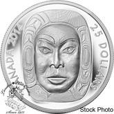 Canada: 2014 $25 Matriarch Moon Mask Ultra High Relief Silver Coin
