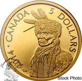 Canada: 2014 $5 Portrait of Nanaboozhoo Gold Coin