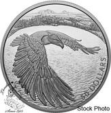 Canada: 2020 $50 Courageous Bald Eagle Fine Silver Coin
