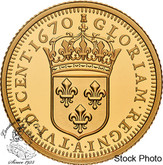 Canada: 2020 $10 Relics of New France: Louis XIV 15 Sol Pure Gold Coin