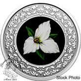 Canada: 2020 $3 Floral Emblems of Canada - Ontario: Trillium Fine Silver Coin